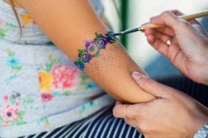 Glitter Tattoos - The Beach Club Resort Gulf Shores Alabama
