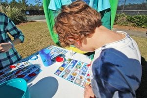 Bingo for Toddlers at The Beach Club Resort Gulf Shores Alabama