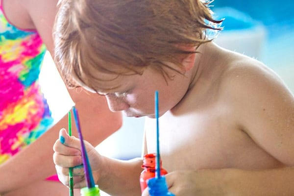 Crafts for Toddlers at the Clubhouse Pool - The Beach Club Resort Gulf Shores
