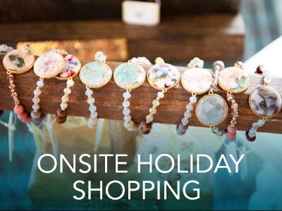 Onsite Holiday Shopping