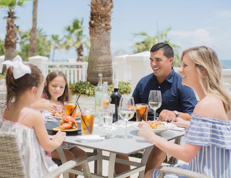 Family at The Beach Club