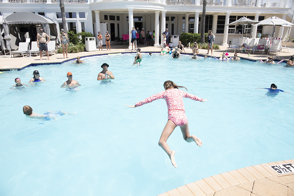 Cannonball Contest at the Clubhouse Pool - The Beach Club Resort & Spa Gulf Shores AL