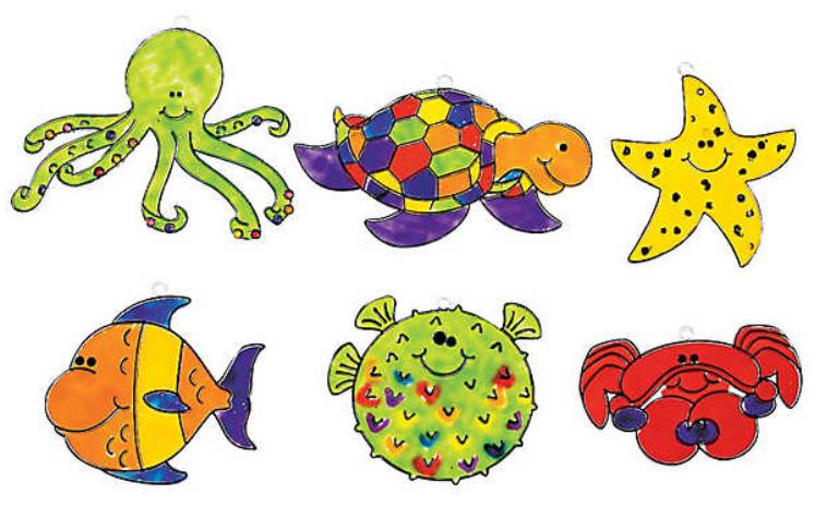 Under the Sea Suncatcher Kids Craft at The Beach Club Resort & Spa Gulf Shores AL