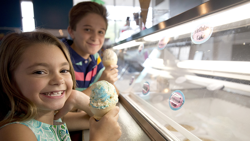 Ice Cream at The Village Creamery - The Beach Club Resort Gulf Shores