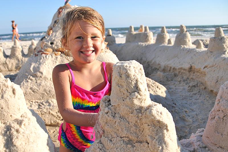 Sandcastle Girl