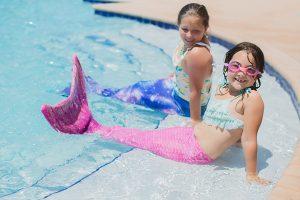 Mermaid photo shoot in Gulf Shores